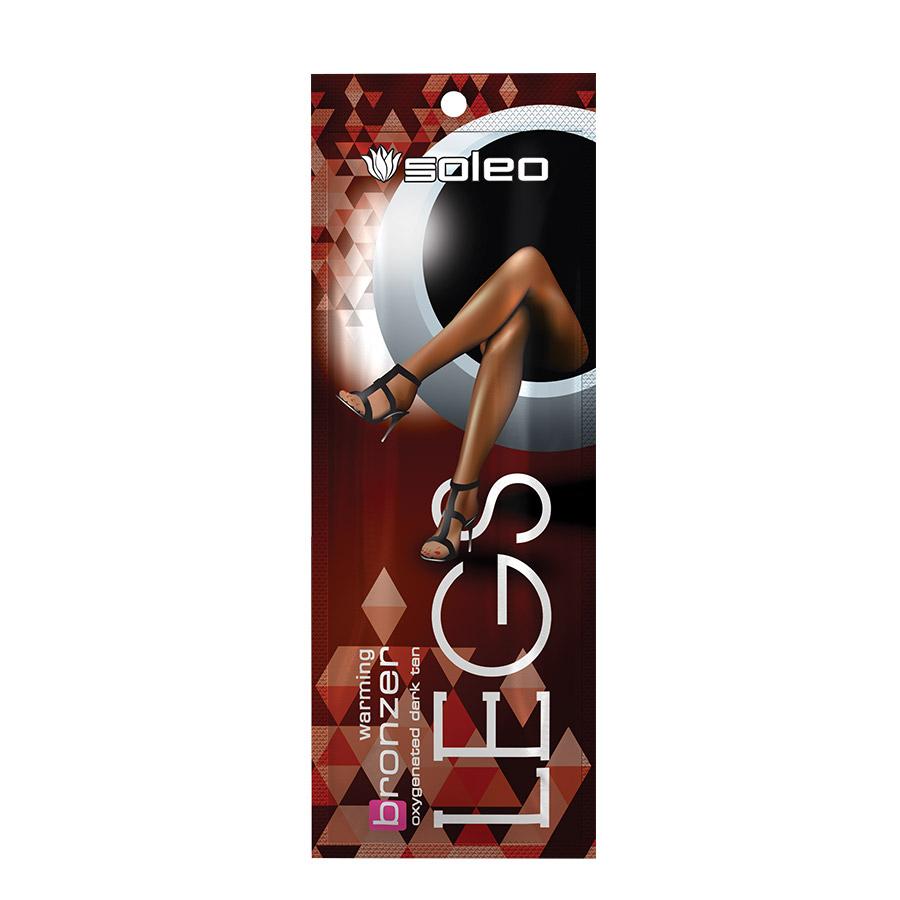 Soleo - Legs, 10ml - jednorázový krém do solária na nohy