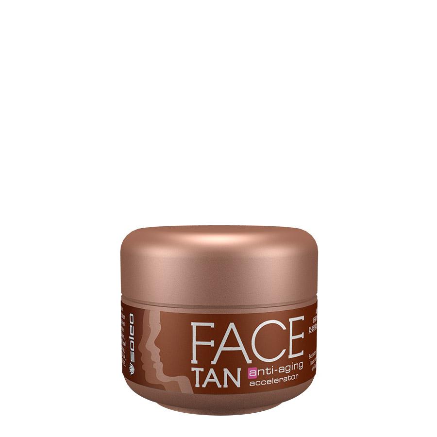 Soleo - Face Tan, 15ml - obličejový krém do solária