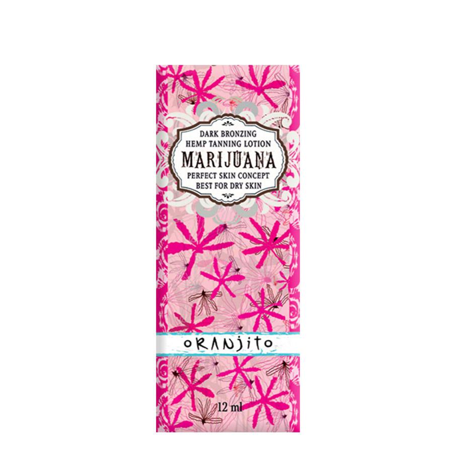Oranjito - Marijuana, 12ml sáček - jednorázový krém do solária