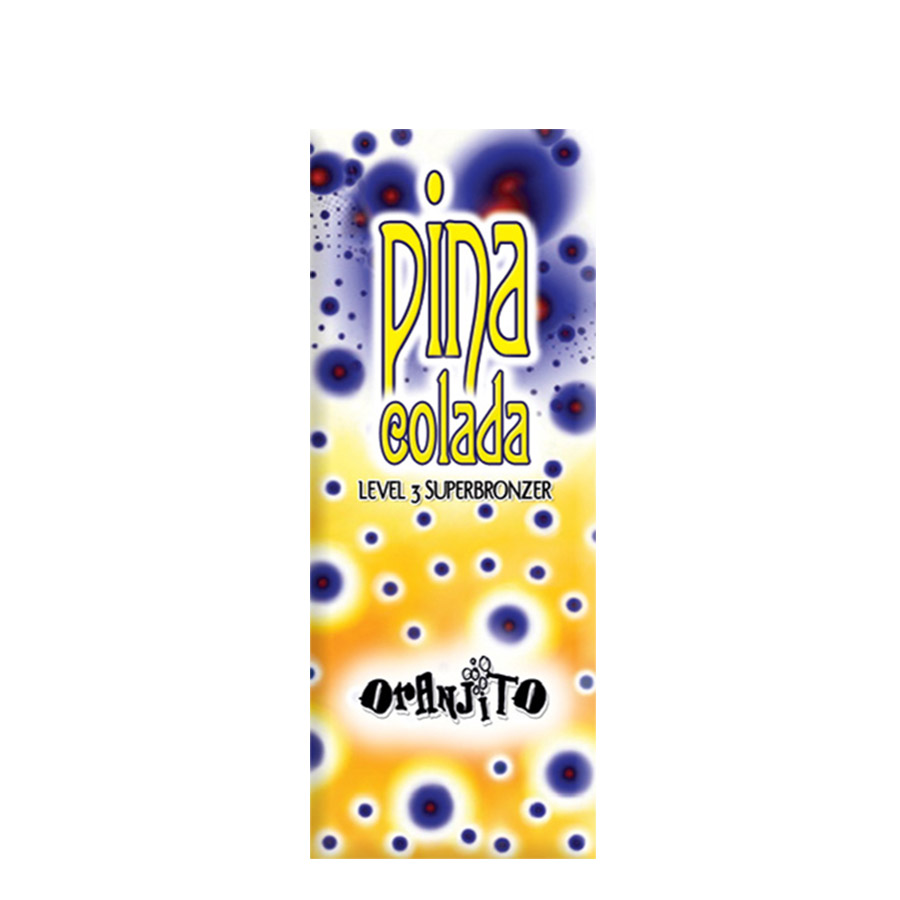 Oranjito - Pina colada - level 3, 12ml sáček - jednorázový krém do solária