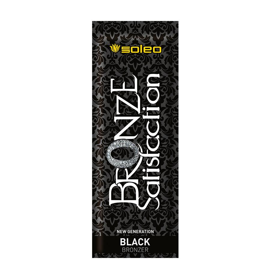 Soleo - Bronze Satisfaction - Black Bronzer, 15ml - jednorázový krém do solária