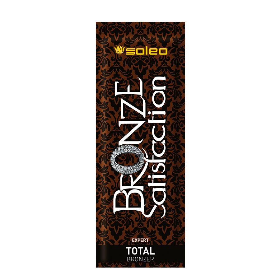 Soleo - Bronze Satisfaction - Total Bronzer, 15ml - jednorázový krém do solária