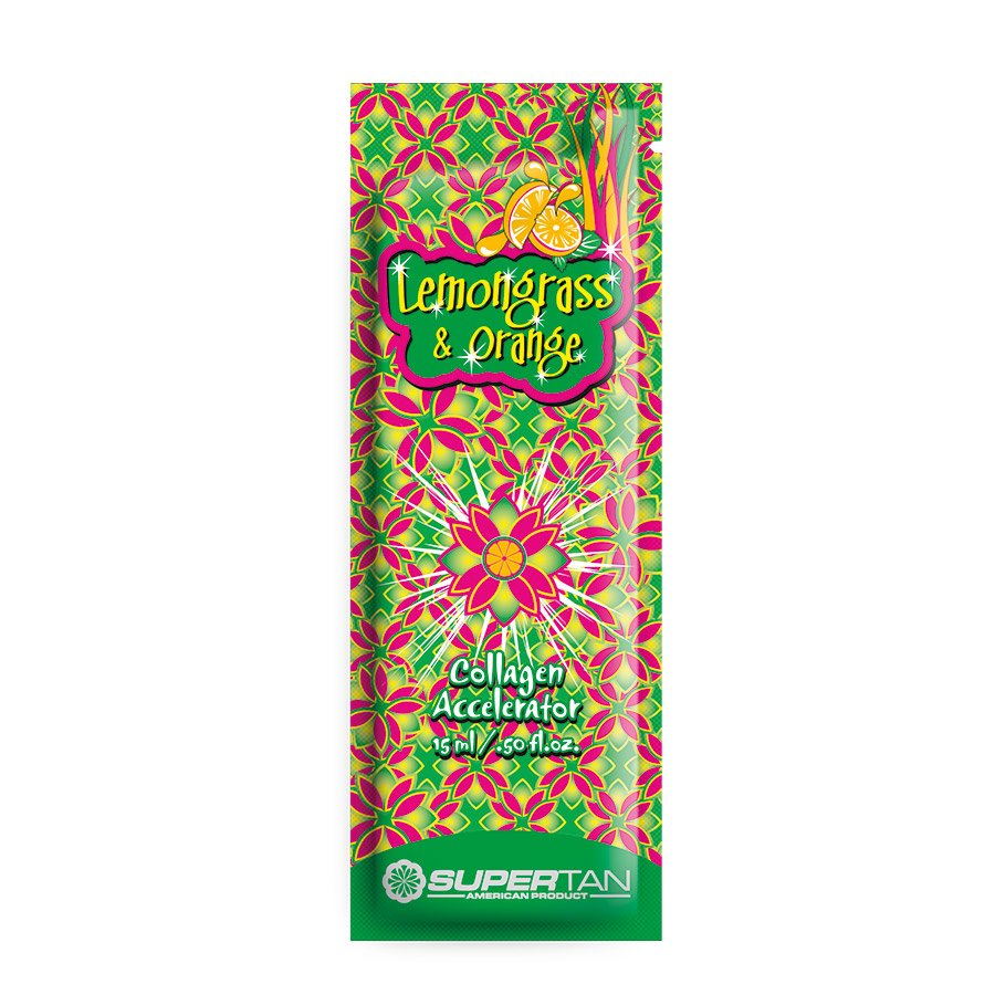 SuperTan - Super Sensations - Lemongrass a Orange, 15ml - jednorázový krém do solária