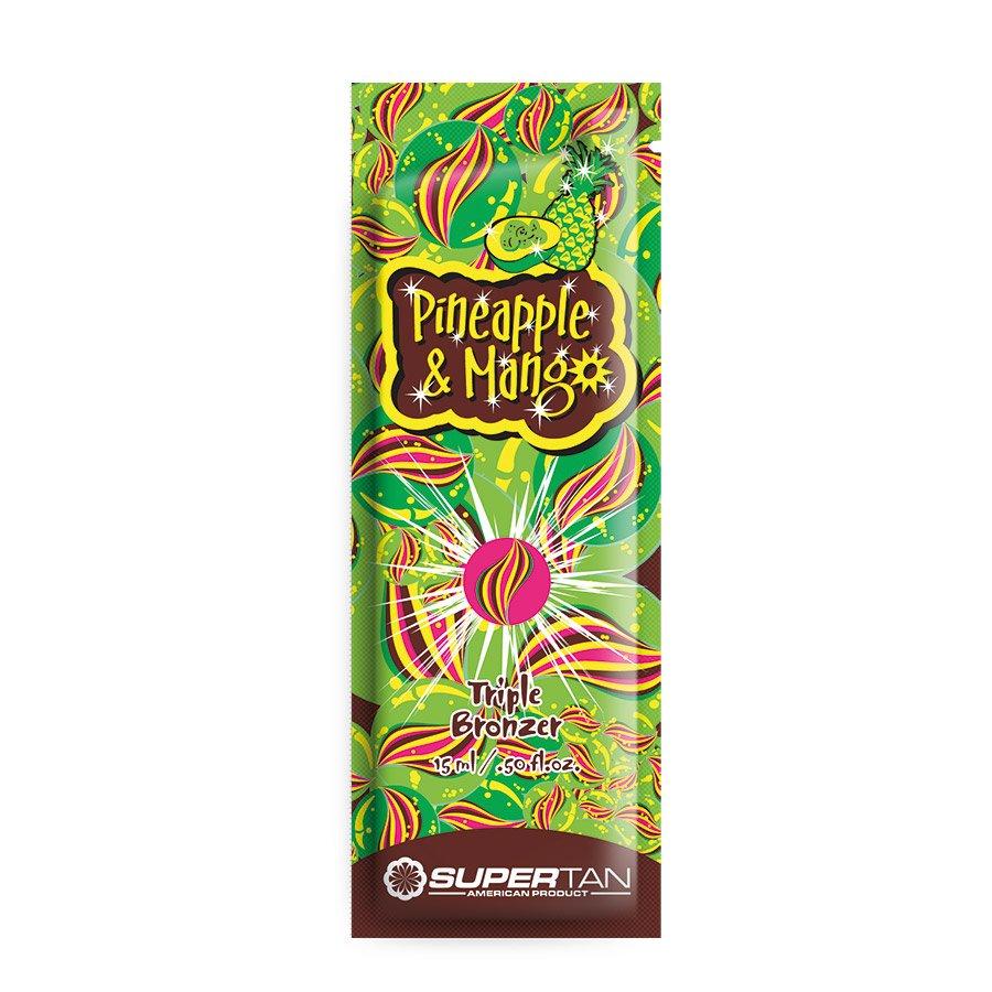SuperTan - Super Sensations - Pineapple & Mango, 15ml - jednorázový krém do solária