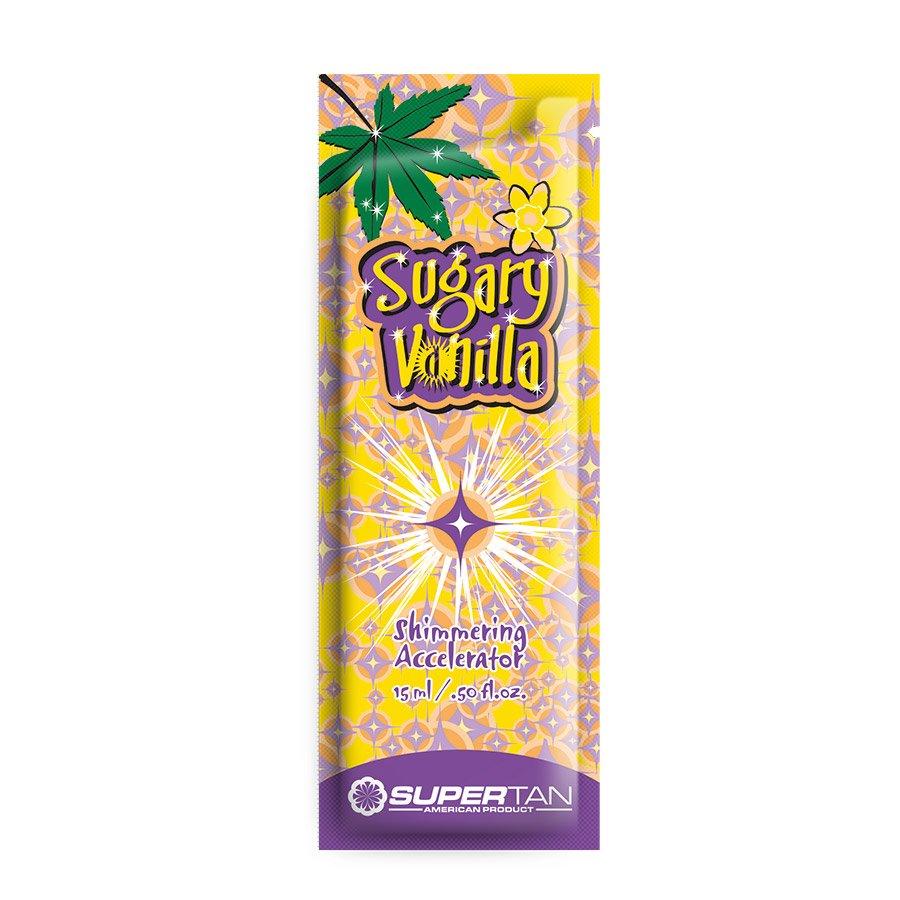 SuperTan - Super Sensations - Sugary Vanilla, 15ml - jednorázový krém do solária