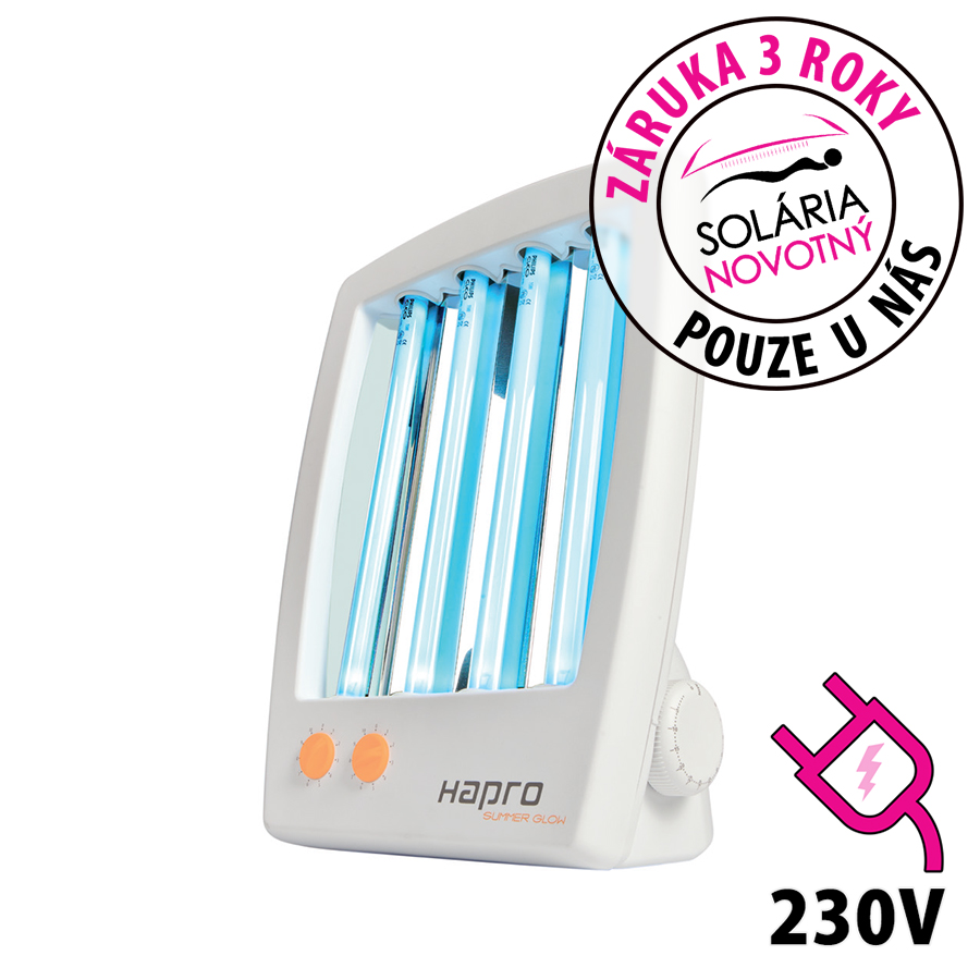 Obličejové solárium Hapro Summer Glow HB 175 pro domácí použití