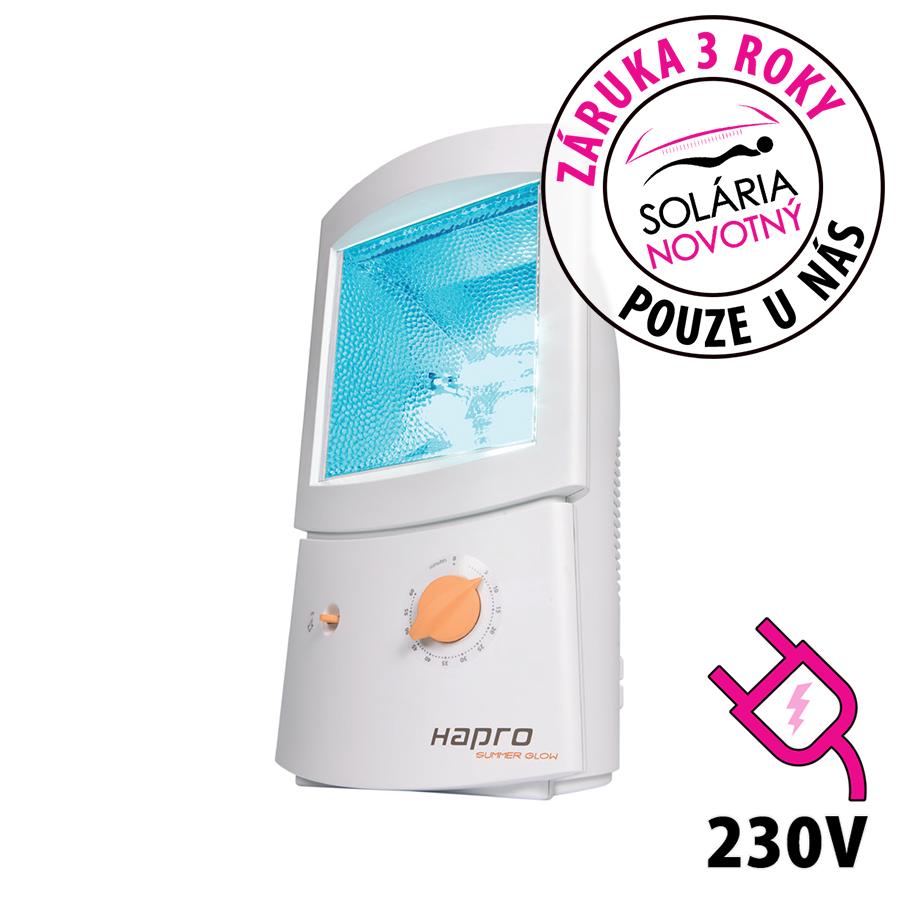 Obličejové solárium Hapro Summer Glow HB 404 pro domácí použití