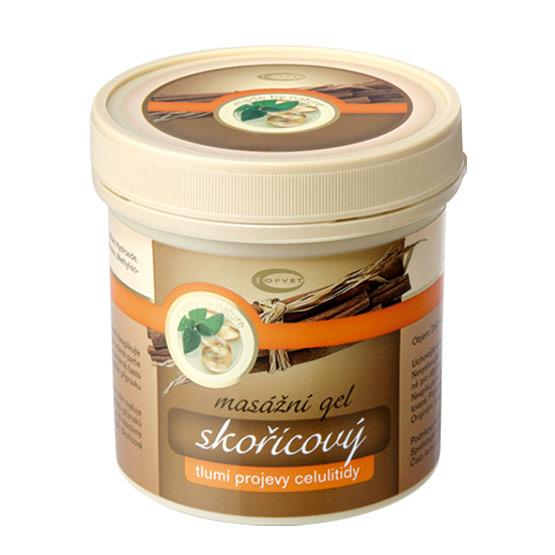 Topvet - Skořicový masážní gel, 500ml