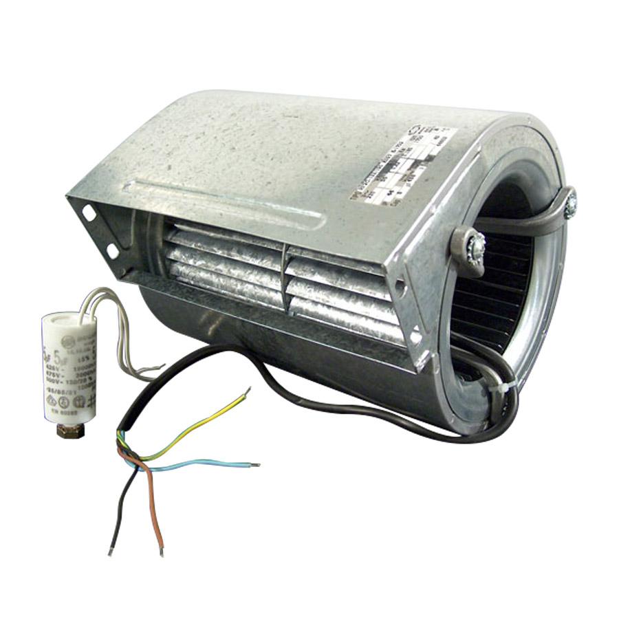 Radiální ventilátor RF2C-133/190 s kondenzátorem pro solárium Lumina, Luxura
