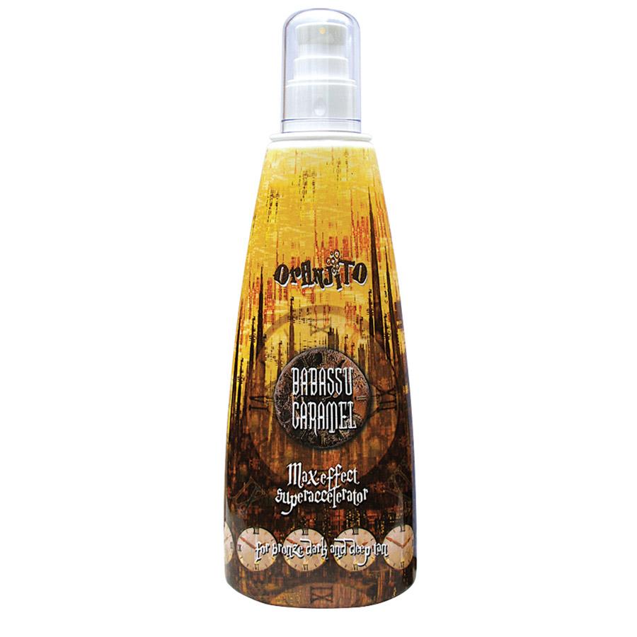 Oranjito - Babassu caramel, 250ml láhev - solární kosmetika