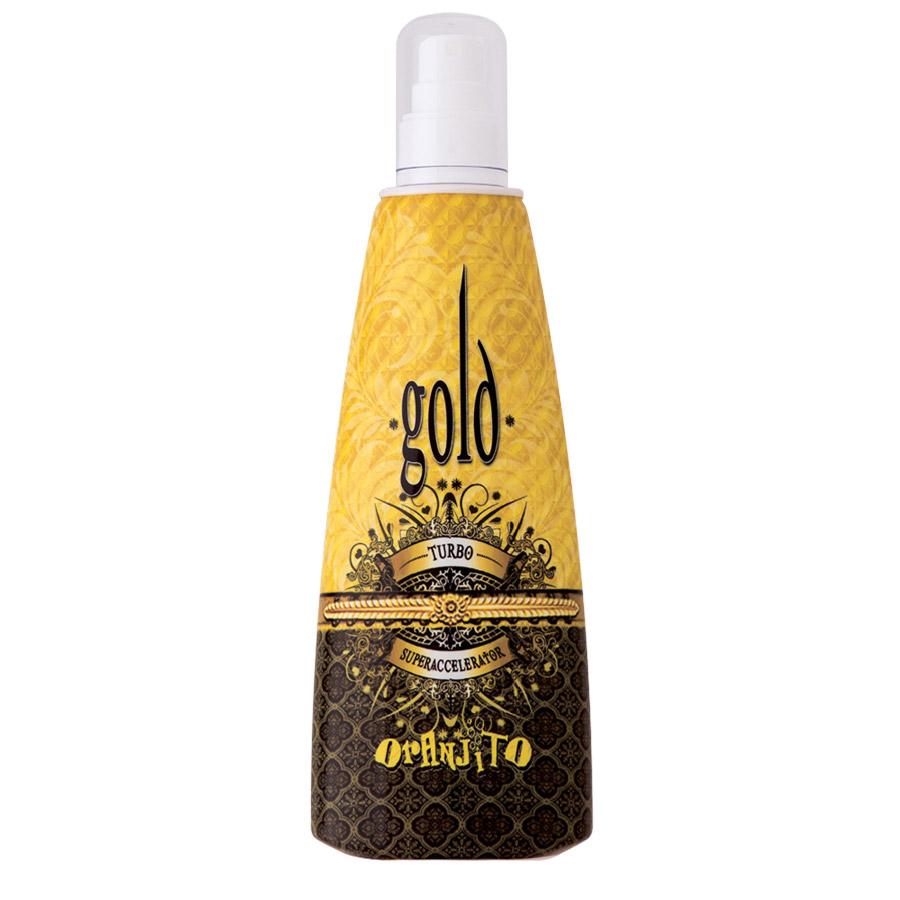 Oranjito - Gold Turbo, 250ml láhev - solární kosmetika