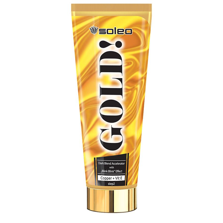 Soleo - Gold, 200ml - solární kosmetika