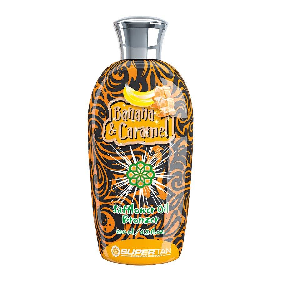SuperTan - Super Sensations - Banana & Caramel, 200ml - solární kosmetika
