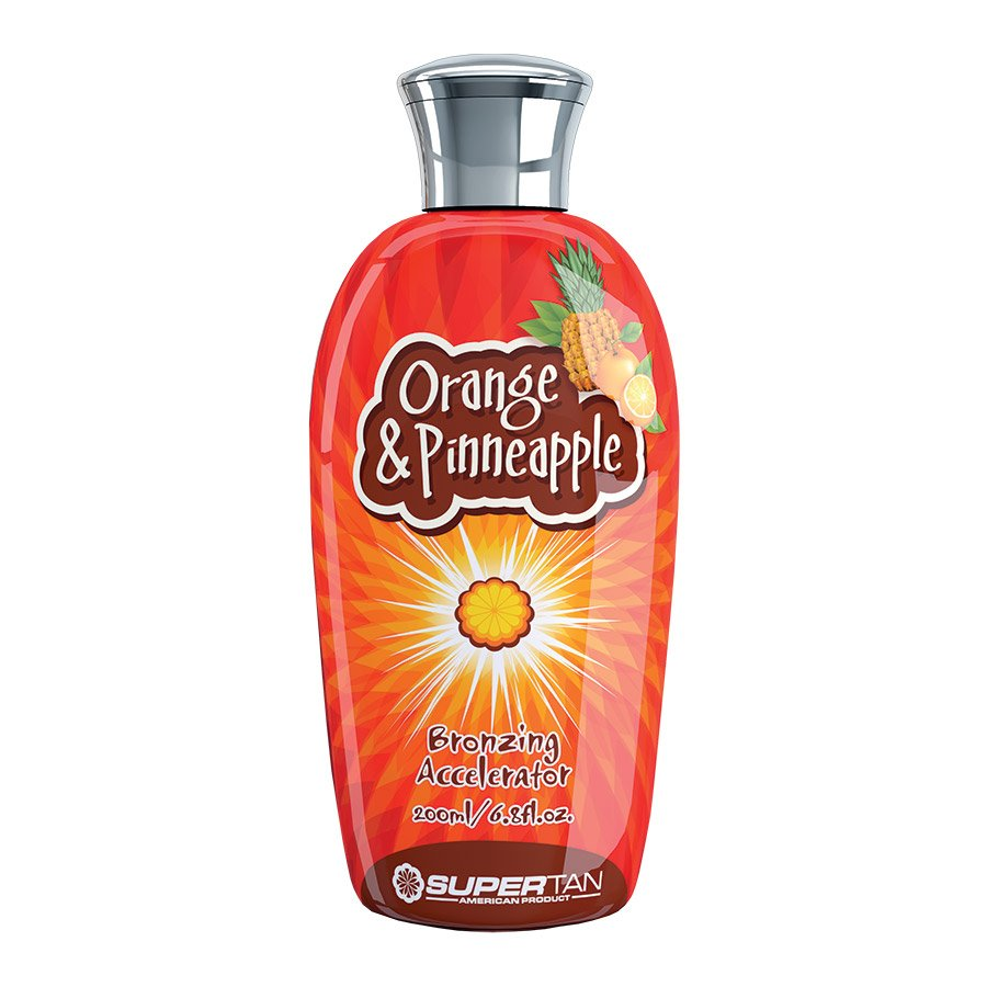 SuperTan - Super Sensations - Orange & Pineapple, 200ml - solární kosmetika