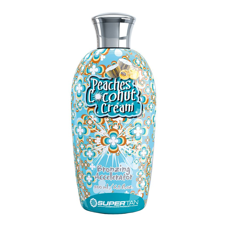 SuperTan - Super Sensations - Peaches Coconut & Cream, 200ml - solární kosmetika