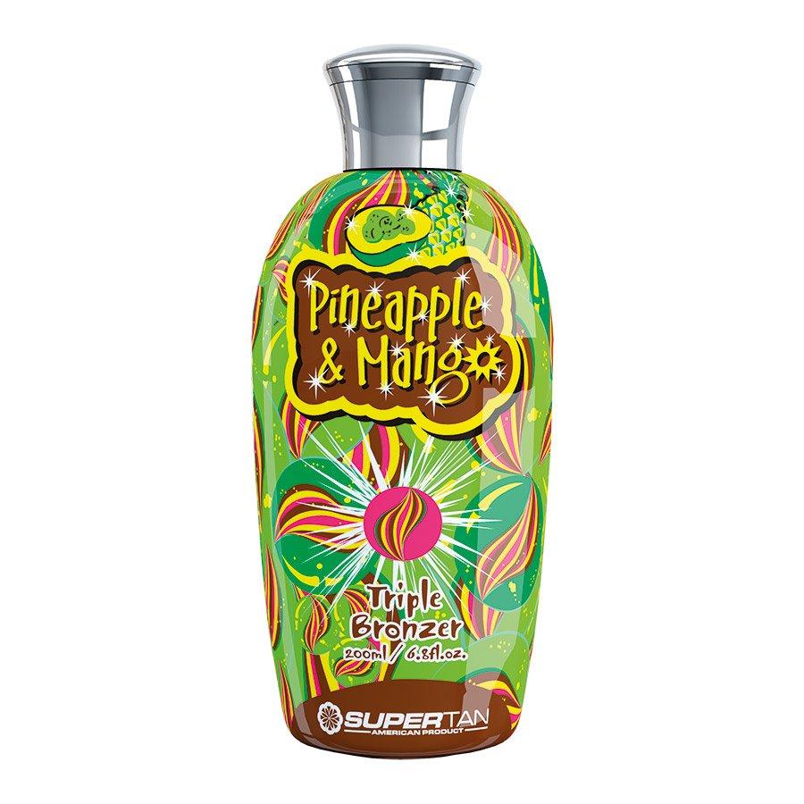 SuperTan - Super Sensations - Pineapple & Mango, 200ml - solární kosmetika
