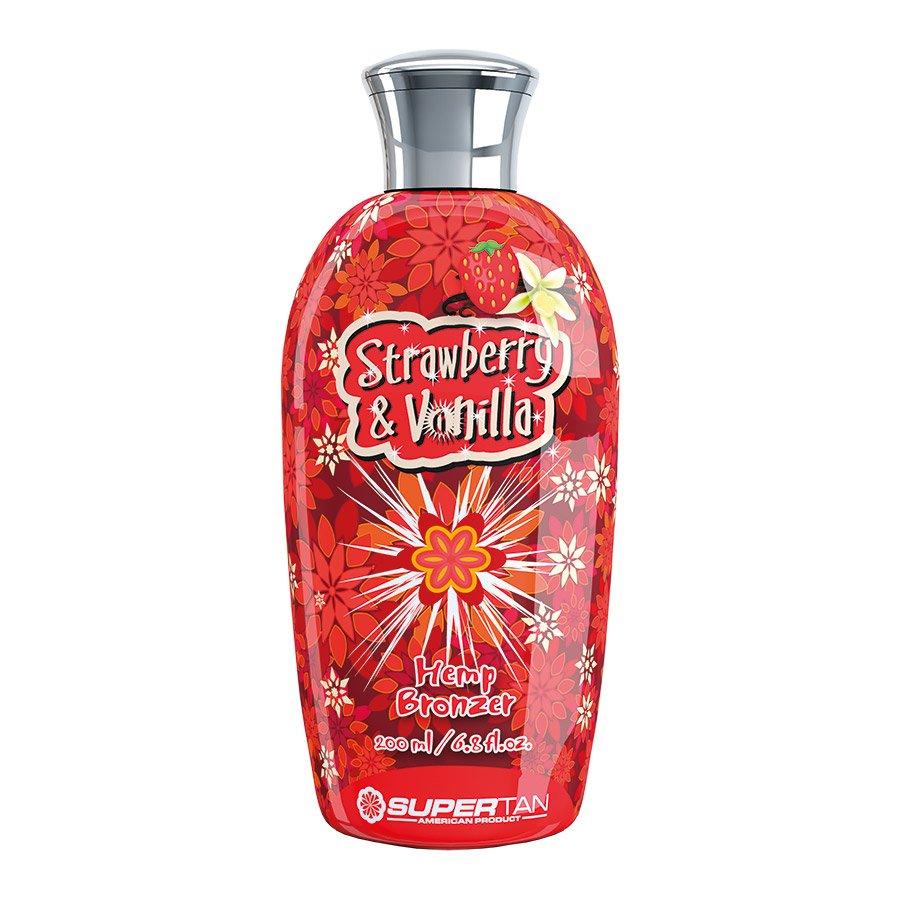 SuperTan - Super Sensations - Strawberry & Vanilla, 200ml - solární kosmetika