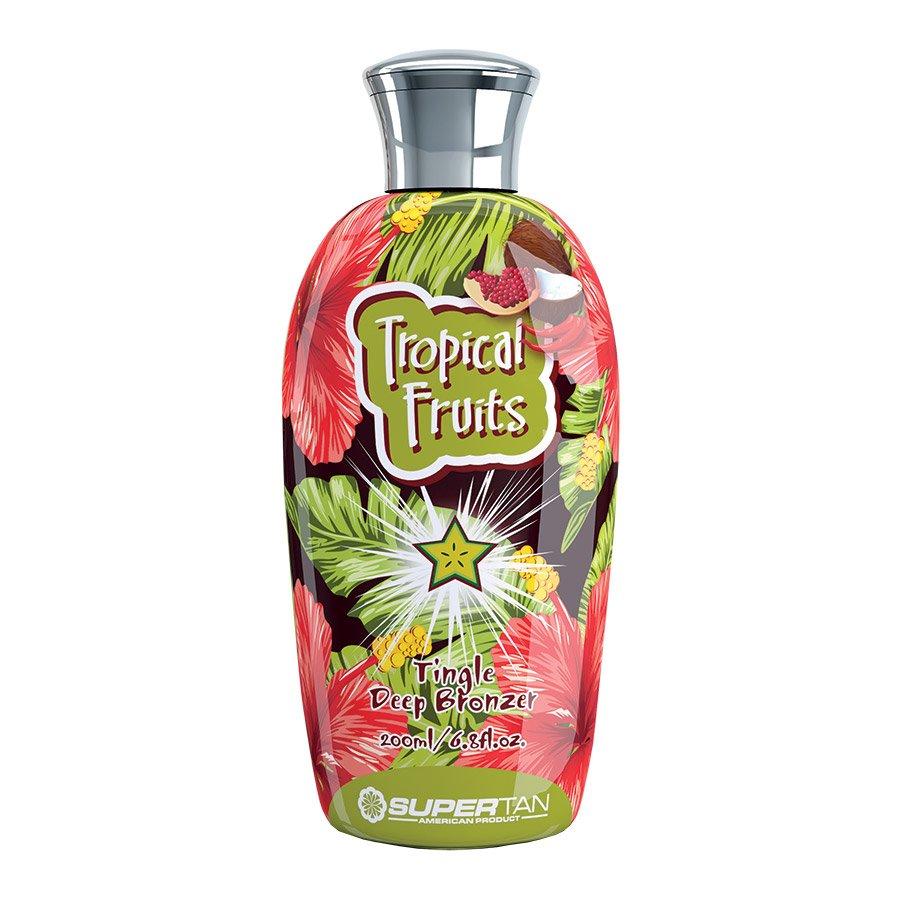 SuperTan - Super Sensations - Tropical Fruits, 200ml - solární kosmetika