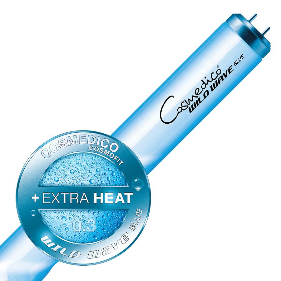Cosmedico Cosmofit WILD WAWE BLUE 160W, 1,76m, 800h, 30894, trubice do solária