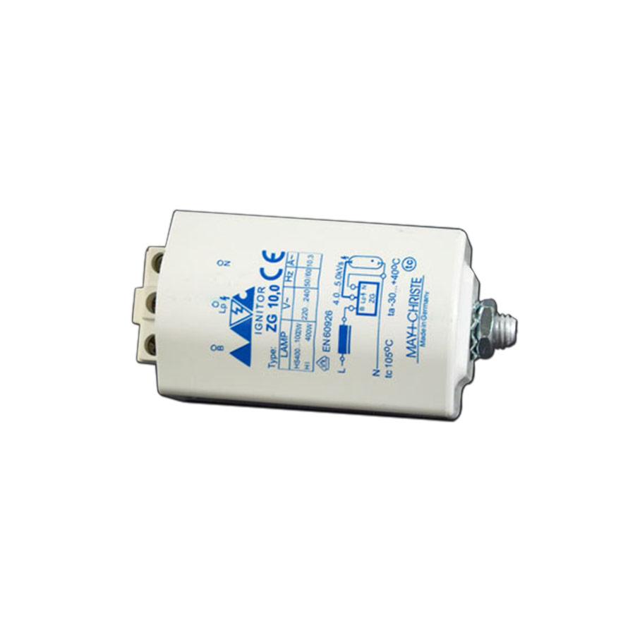 Zapalovač obličejové výbojky ZG 10,0 D 1000W pro solárium Luxura 620, 630, 720, 730