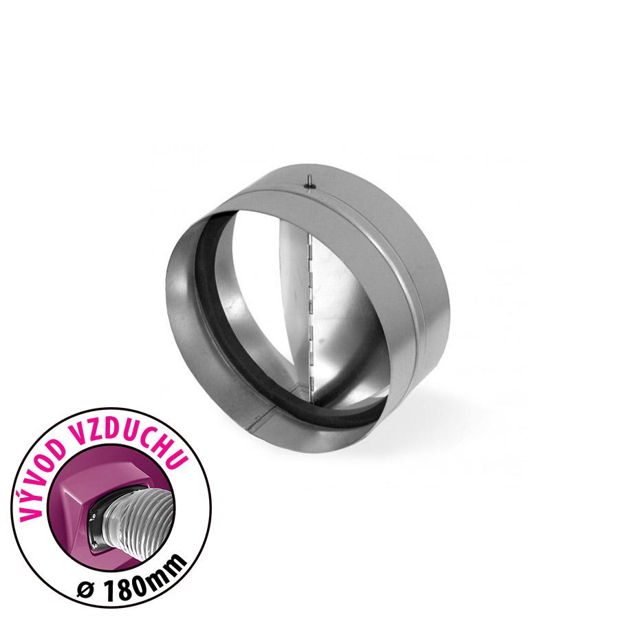 Zpětná klapka - průměr 180mm