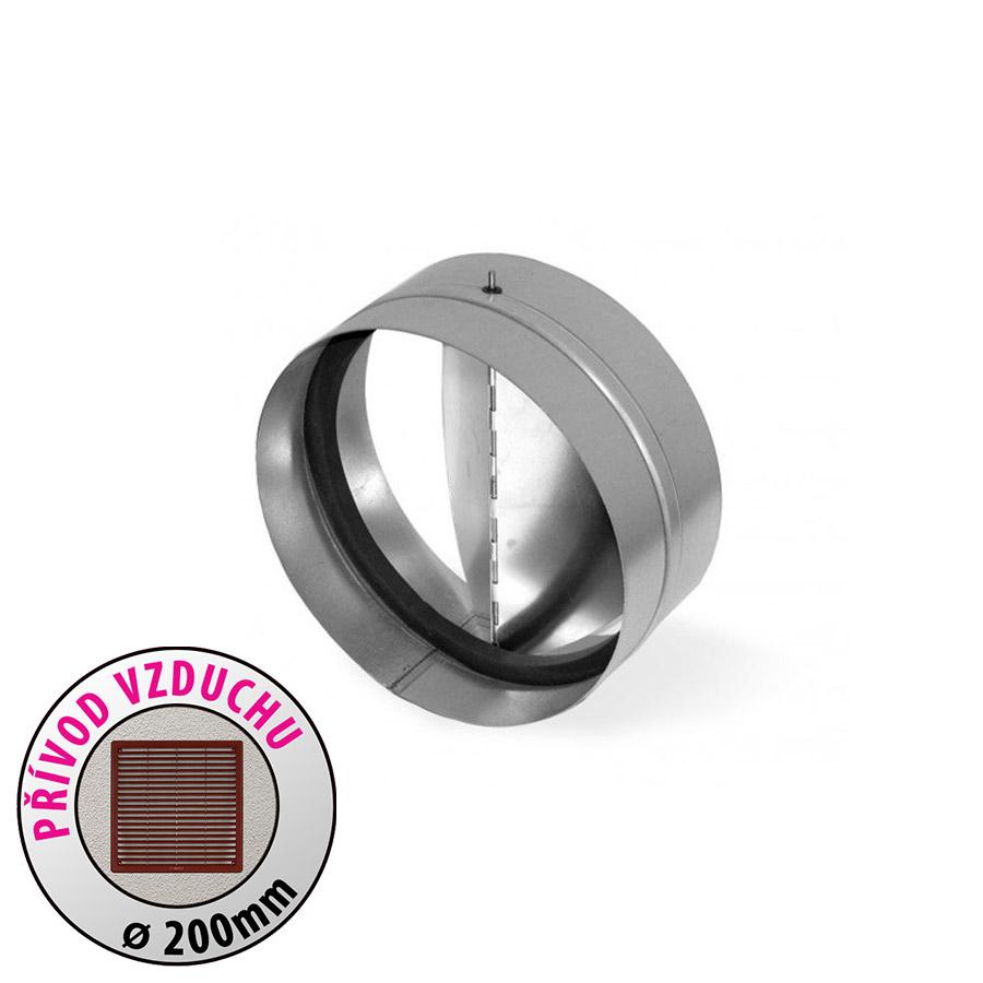 Zpětná klapka - průměr 200mm